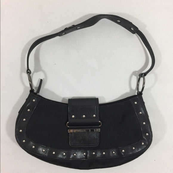 Small Black Guess Shoulder Bag